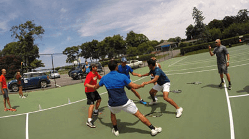 Moussa Drame Tennis - Adult CLinic & Lessons