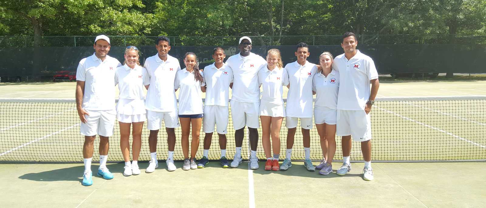 Moussa Drame Tennis team 2018