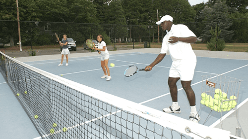 Moussa Drame Tennis - Group Lesson